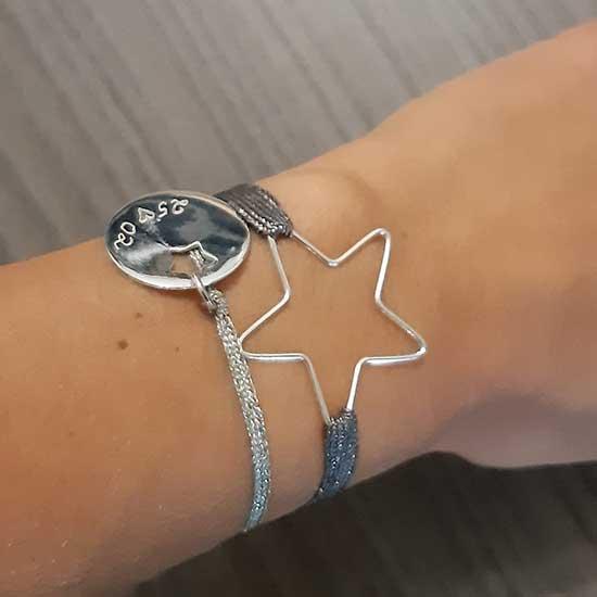 photo bracelet gravé